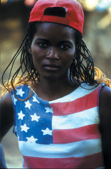 Congolese Girl Amidst War